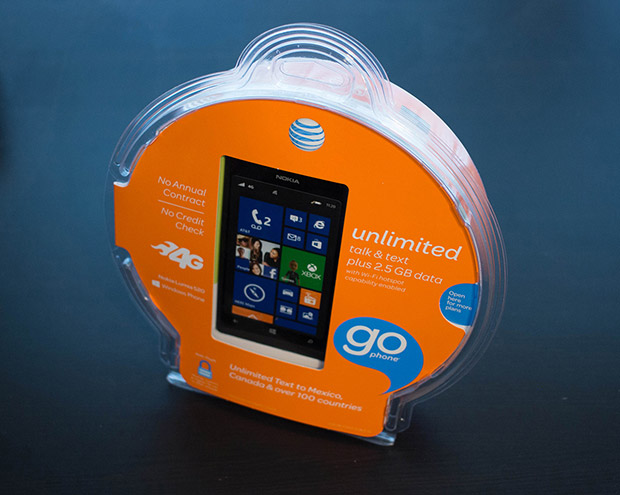 AT&T now offering prepaid GoPhone plan with unlimited data