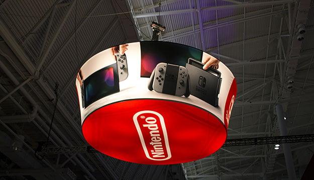 Nintendo Swiitch Sign