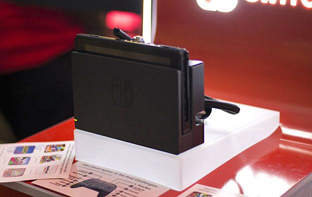Nintendo Switch In Dock