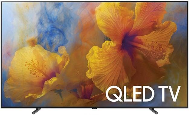 Samsung QLED TV Front