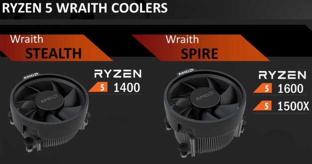 amd ryzen 5 heatsink coolers