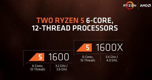 amd ryzen 5 six-core processors