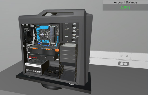 Test your gaming rig assembly skills with the immersive pc for Online house builder simulator