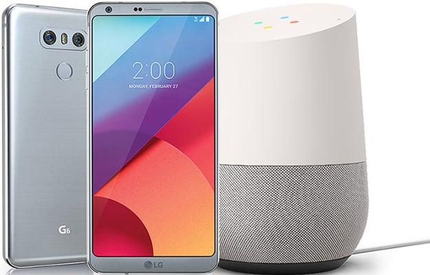 LG G6 Google Home