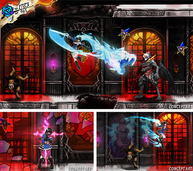 Bloodstained Concept Art