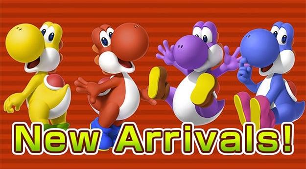 Super Mario Run Yoshis