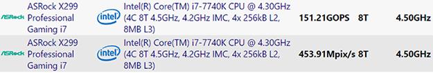 Intel i7 7740K Leak2