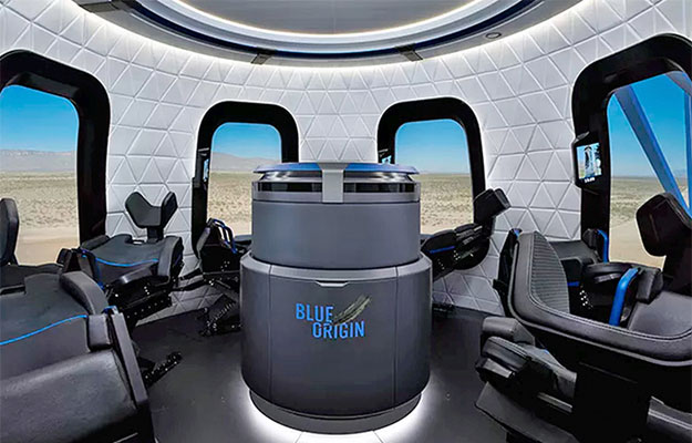 blue origin interior wide shot