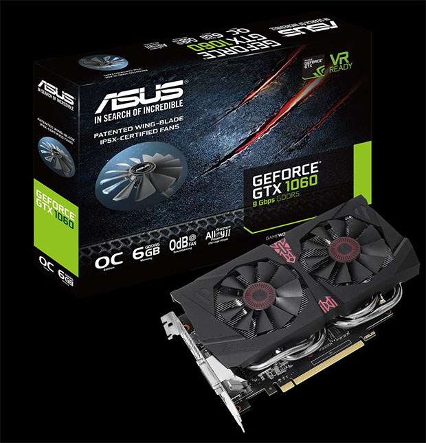ASUS GTX 1060 6Gbps