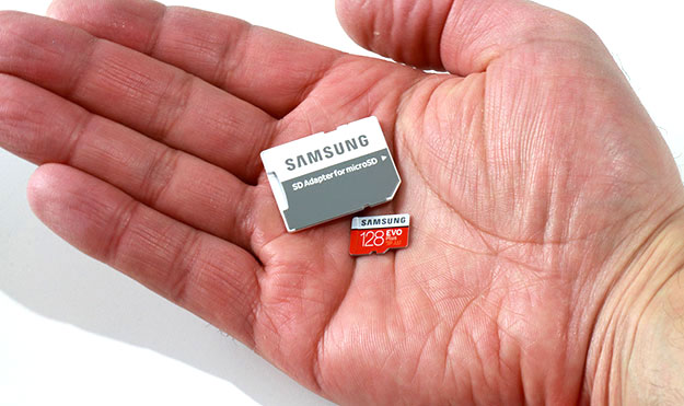 Samsung Evo Plus Microsdxc 128gb Card Rips File Transfers Up To