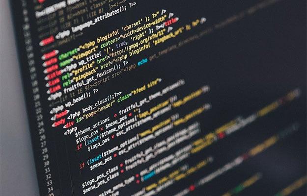 software development stock image