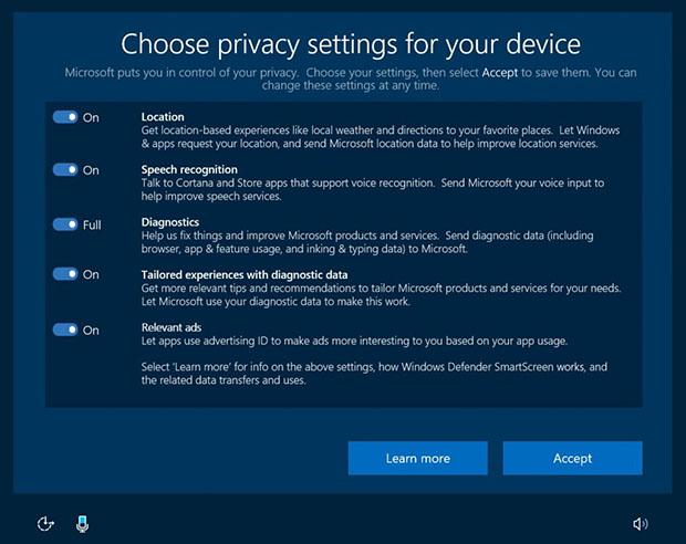 Microsoft Privacy 2