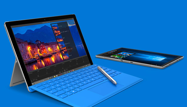 surface pro 4 banner