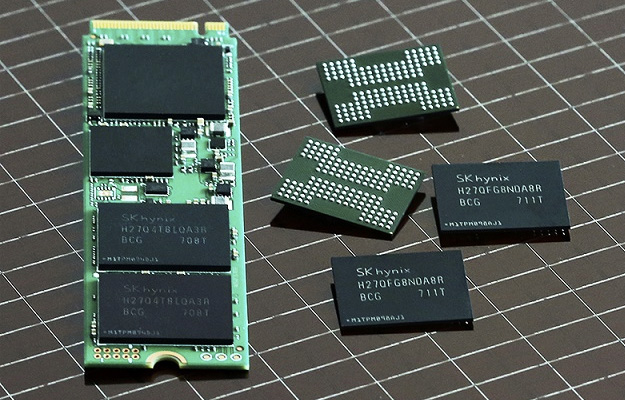 Hynix 72-layer 256Gb 3D NAND
