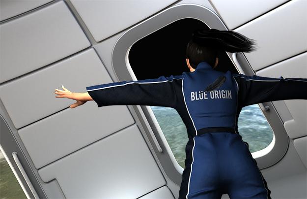 Blue Origin Window
