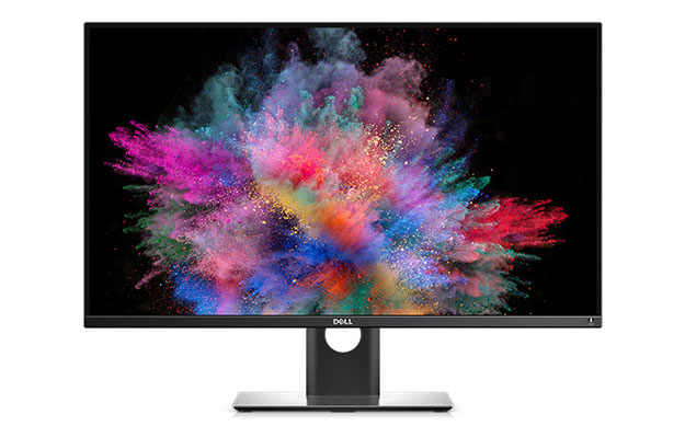 dell 30inch 4k ultrahd monitor front