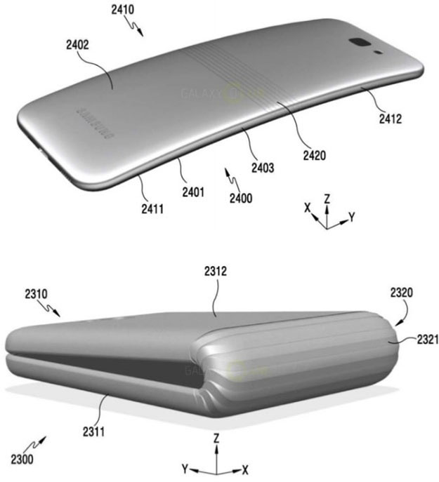 Samsung Foldable Phone patent