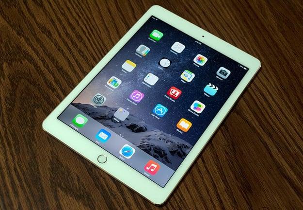 iPad Air 2 On