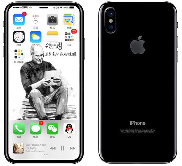 Apple iPhone 8 Rendering