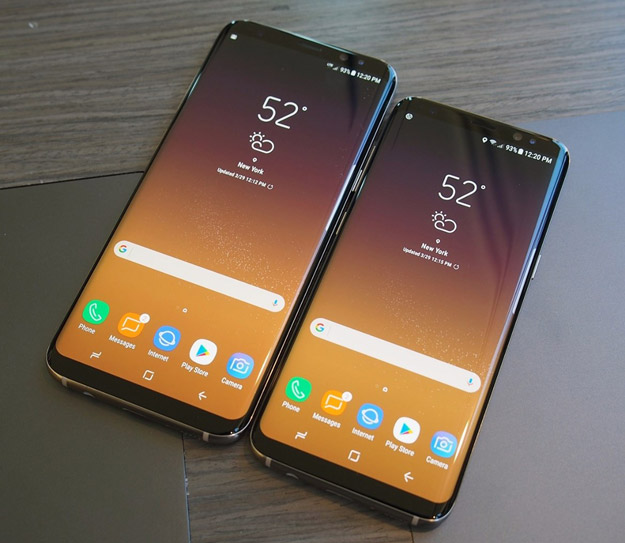 samsung s8 and galaxy s8 plus