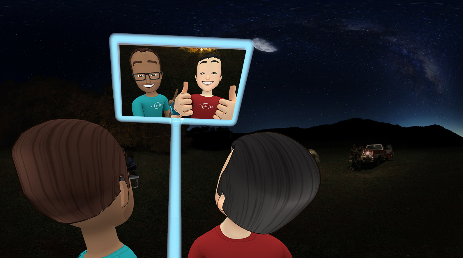 Facebook Spaces Lets You Mingle With Friends In Virtual Reality Using Oculus Rift