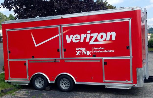 Verizon Trailer