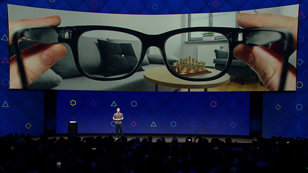 Mark Zuckerberg F8 AR Glasses