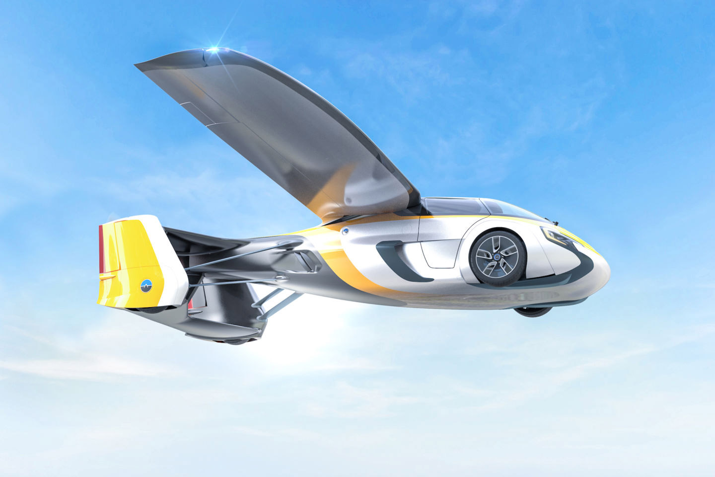 AeroMobil Wants To Get Your George Jetson On With Its Flying Car