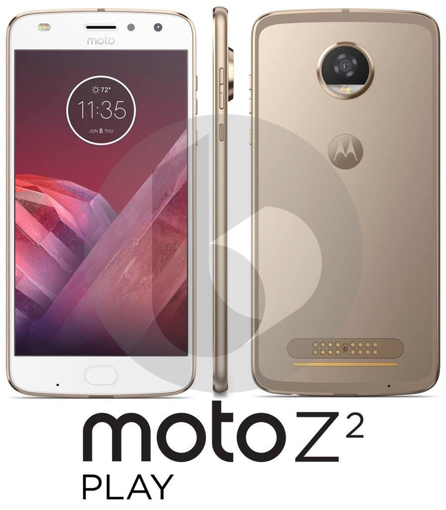 Moto Z2 Play Leaks With Moto Mods Support And Dual LED Selfie Flash