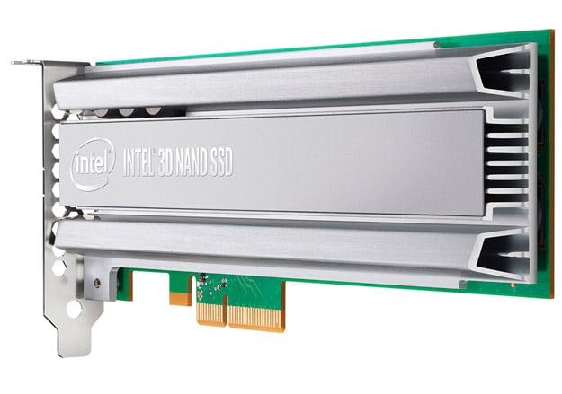 Intel SSD P4500 Generic Series AngleBack RGB LR