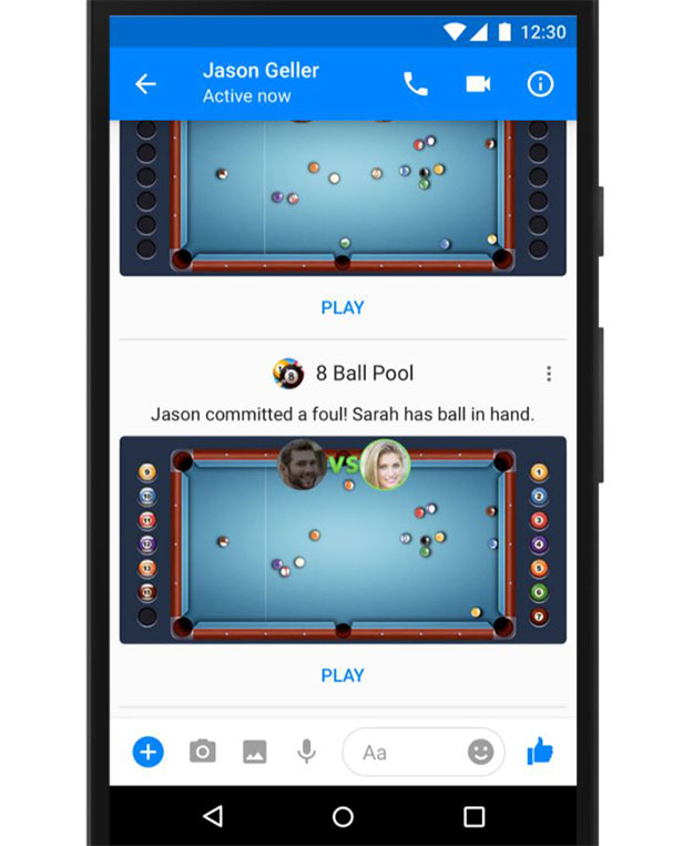 instant games 8pool ball