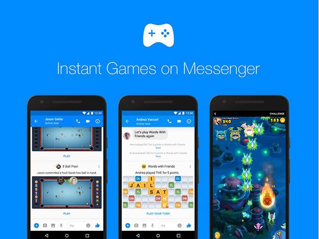 instant games on messenger announcement 1