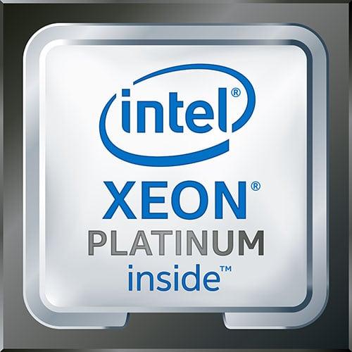 Intel Xeon Platinum Badge