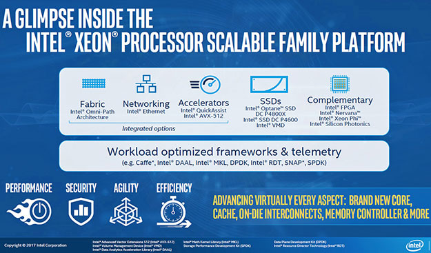 Intel Xeon Scalable Family 10
