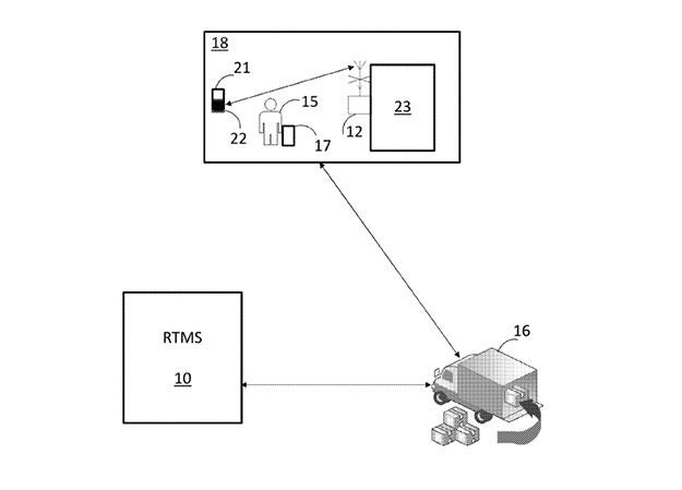 walmart online ordering patent