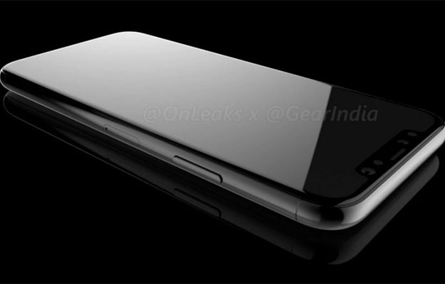 iphone8 render front facing
