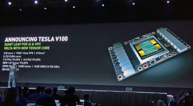 NVIDIA Unveils Beastly Tesla V100 Powered By Volta GPU With