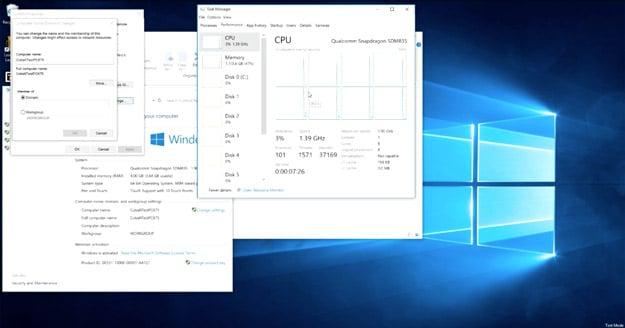windows10 snapdragon835