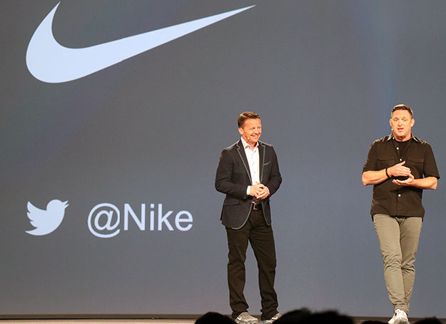 Jeremy Burton Dell and Ken Black Nike