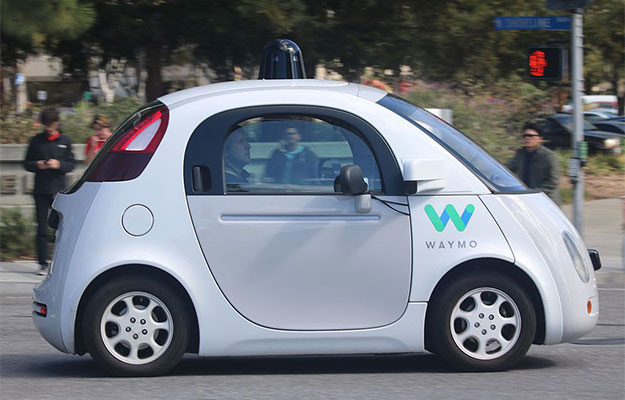 waymo self driving vehicle