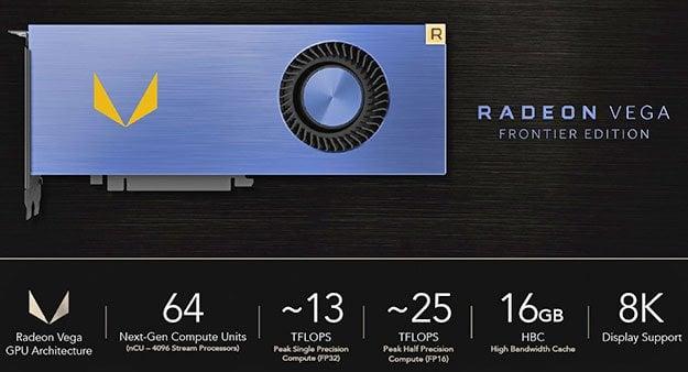 Radeon Vega Frontier Specs