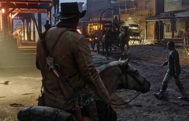 Red Dead Redemption 2 Horseback