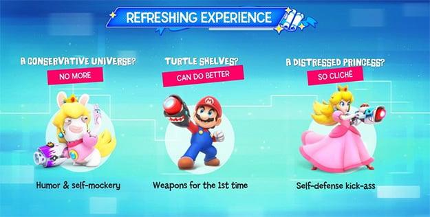 Mario and Rabbids Slide