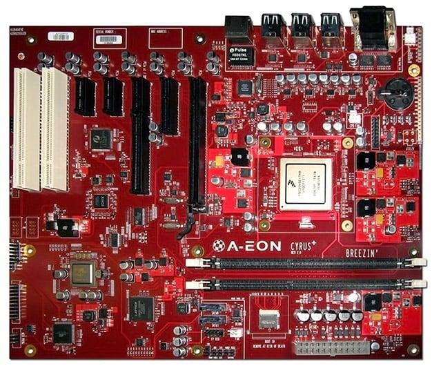 amiga cyrus motherboard