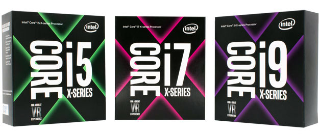 Intel Core X series family