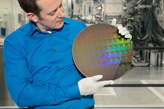 IBM 5nm Wafer
