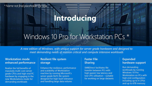 ms windows 10 workstation