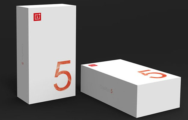 OnePlus 5 Packaging