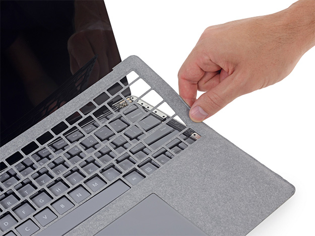 Surface Laptop Fabric Top