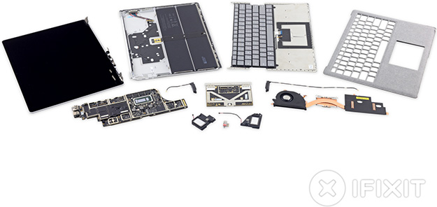 Surface Laptop Parts